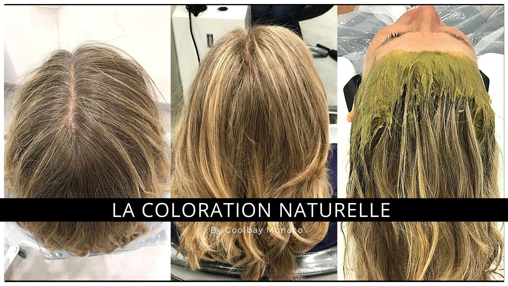 La coloration naturelle au henné par Coolbay Monaco